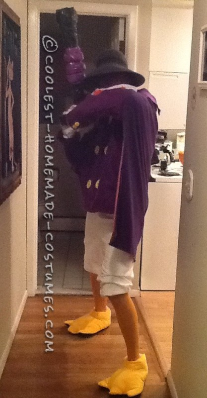 Cool DIY Darkwing Duck Costume