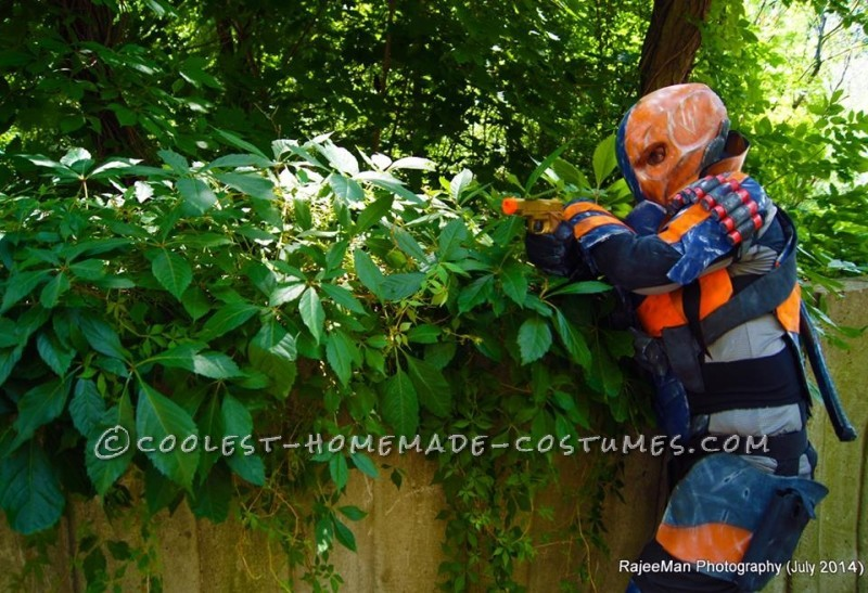 Deathstroke Costume from Batman Arkham Origins - 3