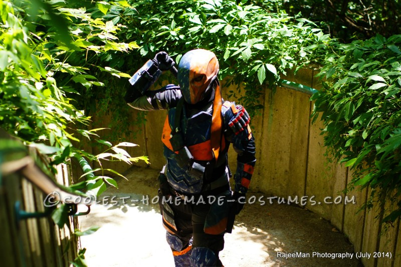 Deathstroke Costume from Batman Arkham Origins
