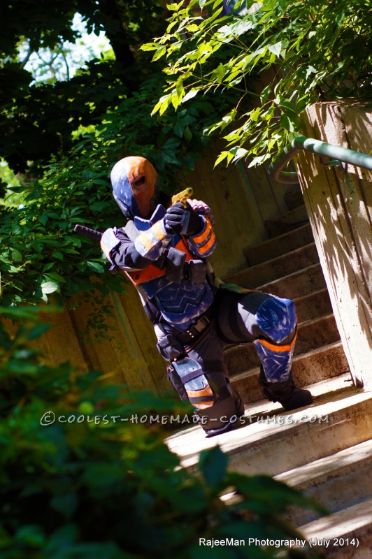 Deathstroke Costume from Batman Arkham Origins - 8