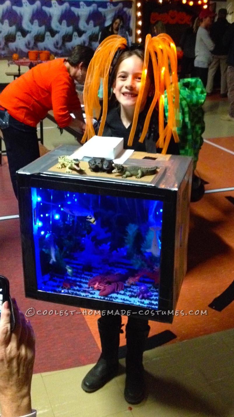 Glowing Deep Sea Aquarium Child's Costume