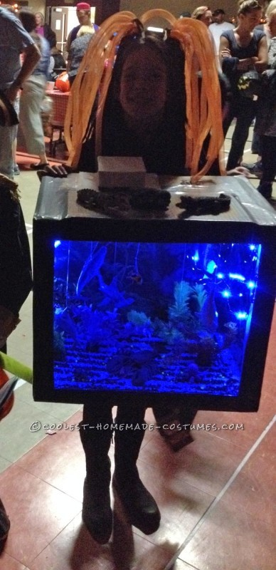 Glowing Deep Sea Aquarium Child's Costume - 2