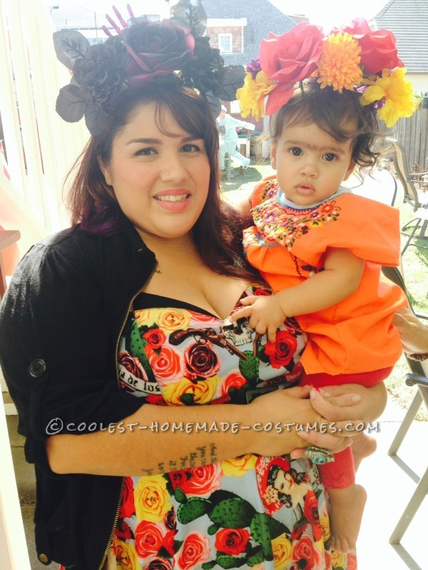 baby Frida and Mama
