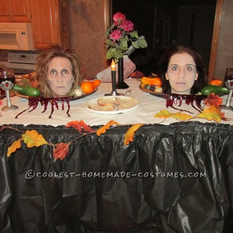 Heads on Platter Costume: Dinner is Served