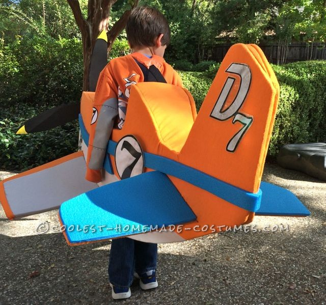 Homemade Disney Planes Dusty Costume