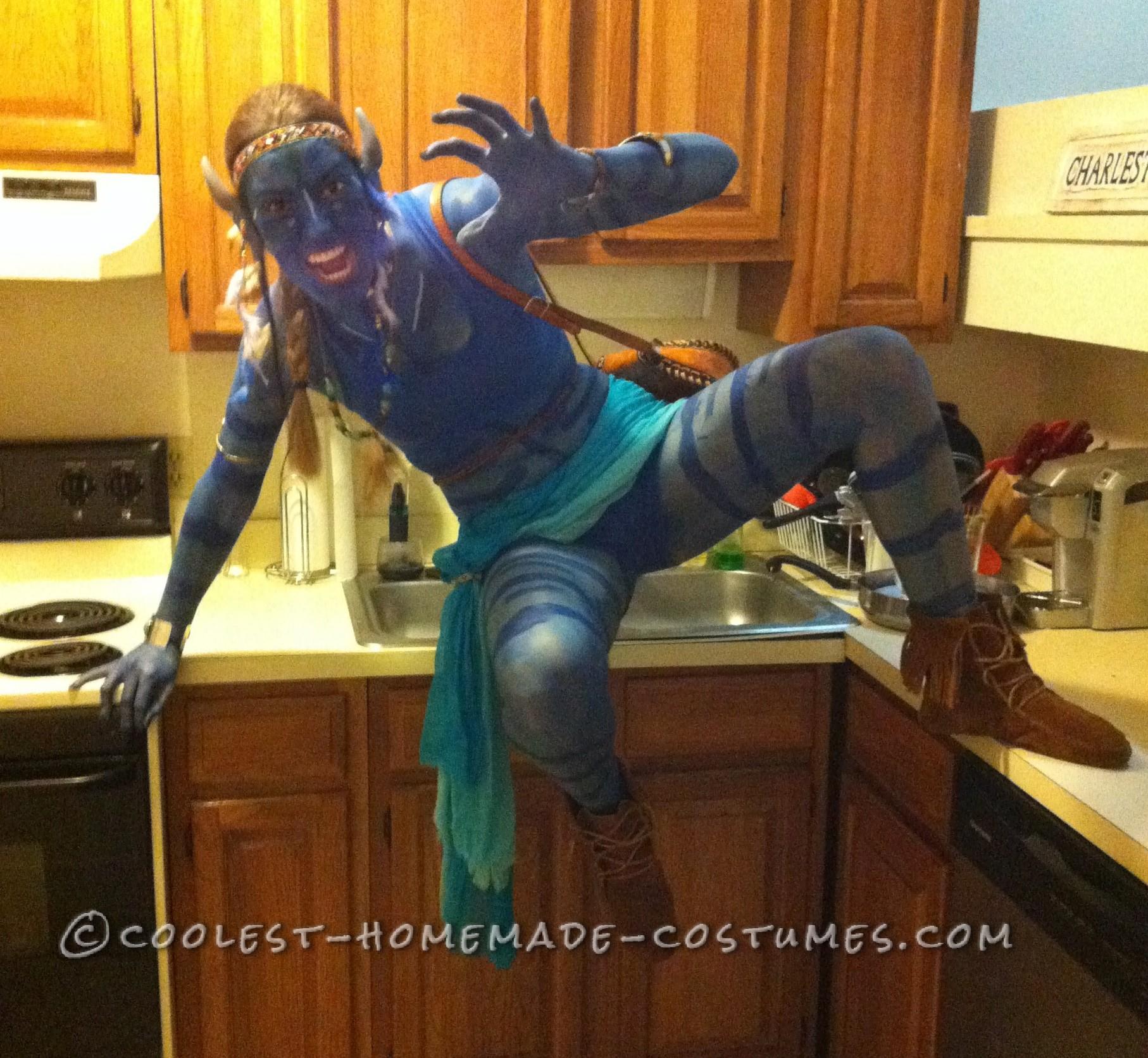 Coolest DIY Avatar Costume