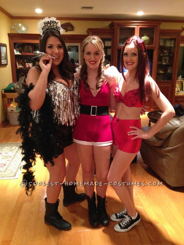 Cool DIY Female Group Holiday Costume