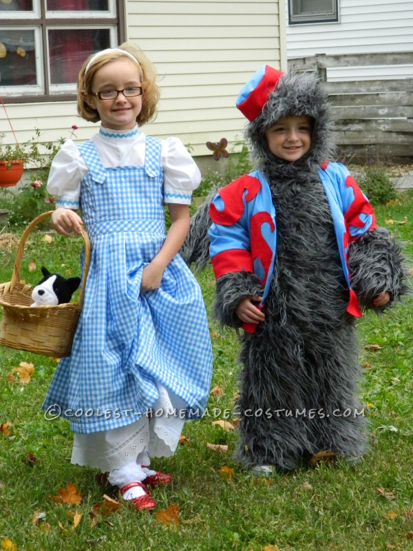 Dorothy and the Flying Monkey Toddler Couple Costume - 1
