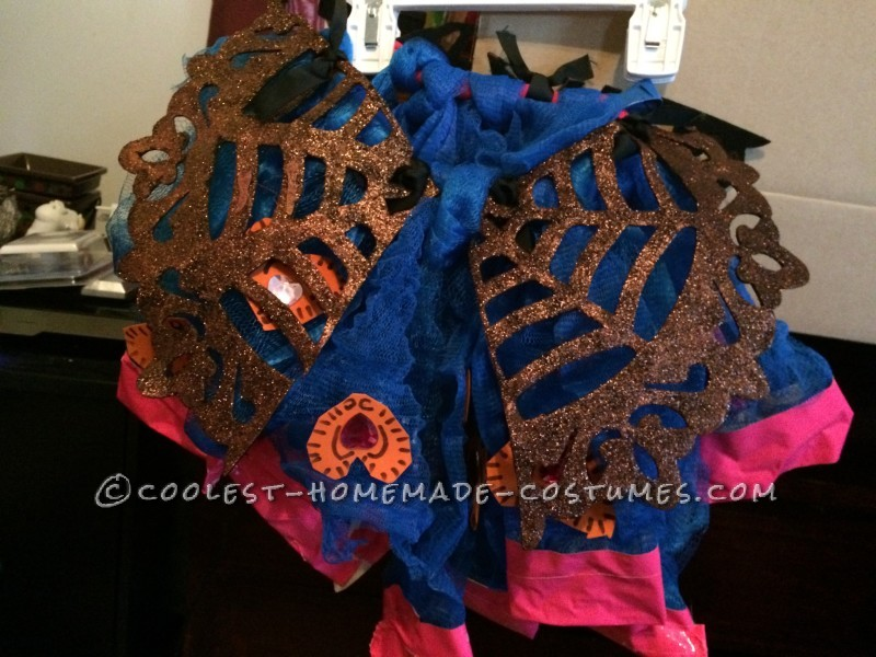 Cool Monster High Dracubecca Costume for a Girl - 5
