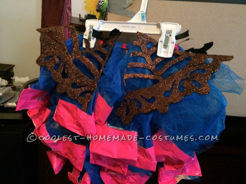 Cool Monster High Dracubecca Costume for a Girl - 7