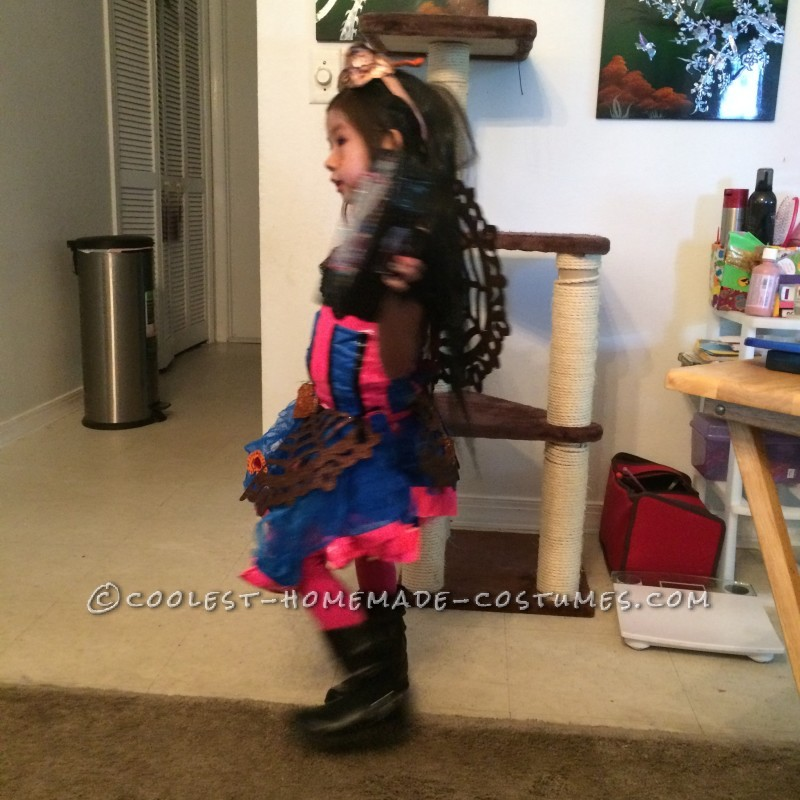Cool Monster High Dracubecca Costume for a Girl - 1