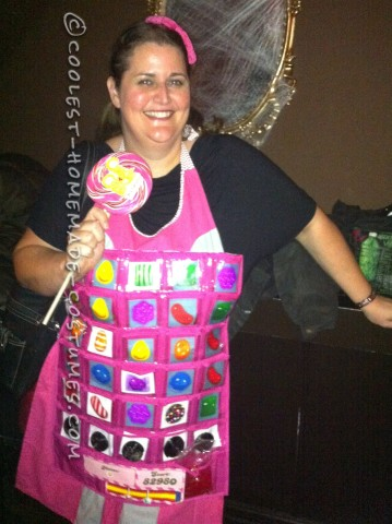 Easy Candy Crush Costume