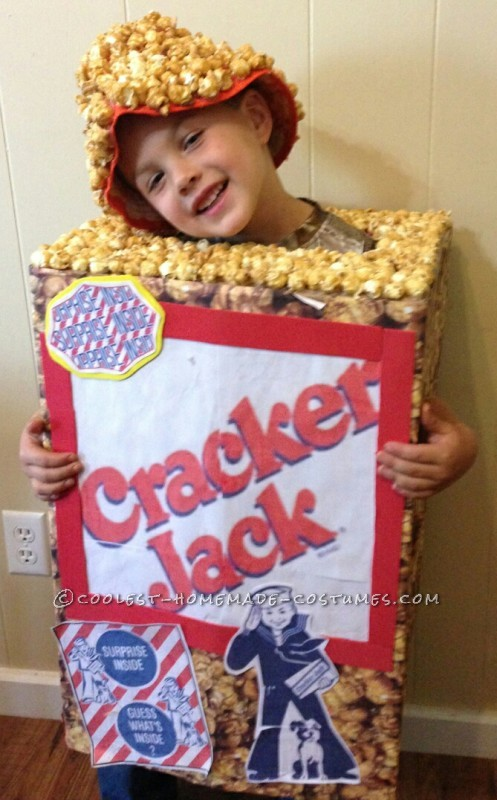 Easy Cracker Jack Costume for a Boy