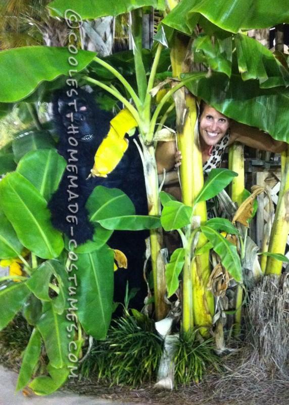 Easy No-Sew DIY Tarzan Group Costume - 3