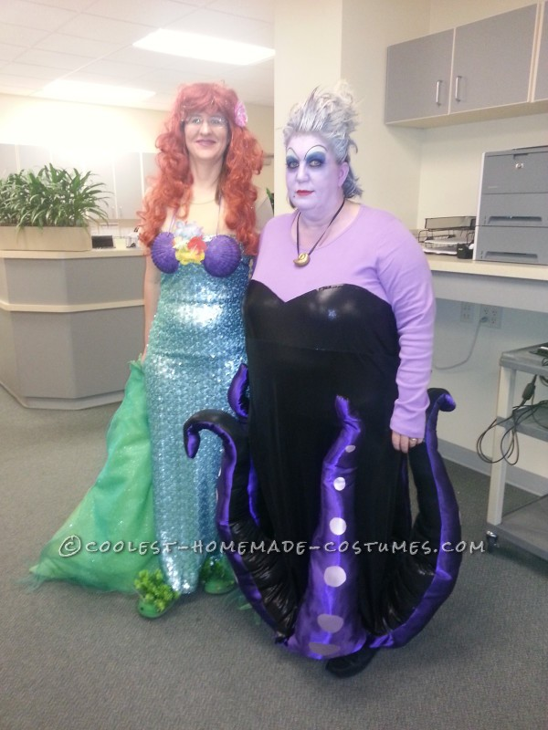 Cool Homemade Ursula Costume