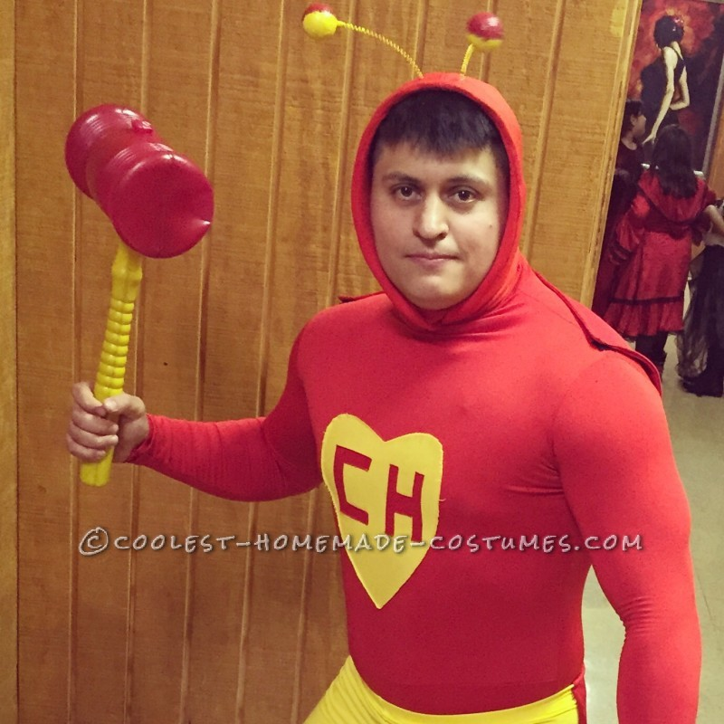 Hilarious Homemade El Chapulin Colorado Costume
