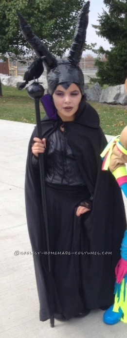 Electrical Tape Maleficent Costume