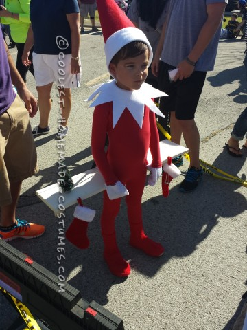 Elf on The Shelf Costume for a Boy