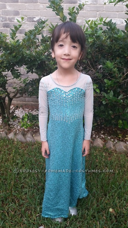 Elsa the (Very Tiny) Snow Queen Costume