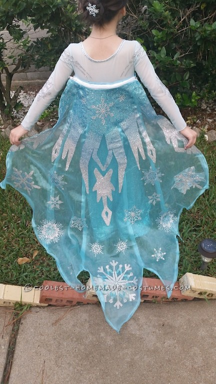 Elsa the (Very Tiny) Snow Queen Costume - 3