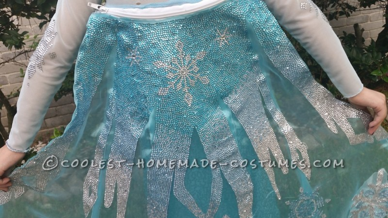 Elsa the (Very Tiny) Snow Queen Costume - 4