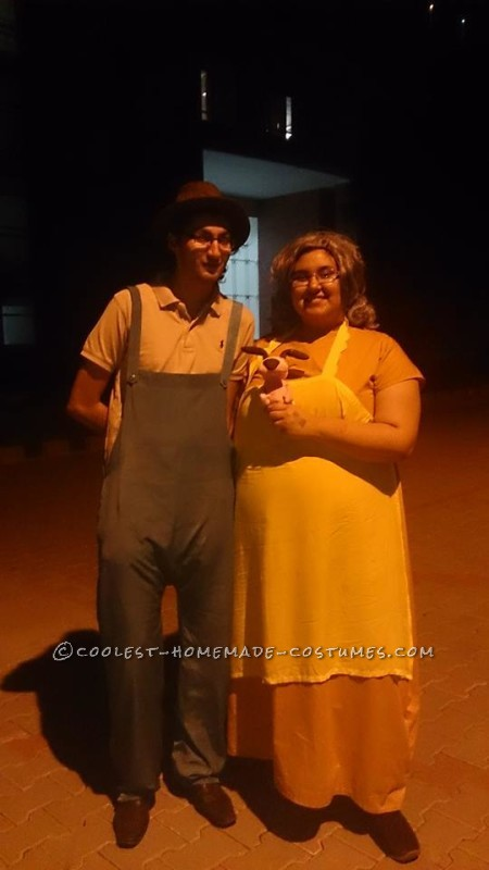 Courage the Cowardly Dog Eustace and Muriel Costumes