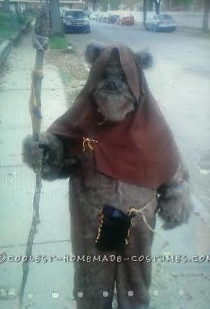 Coolest Homemade Adult Ewok Costume