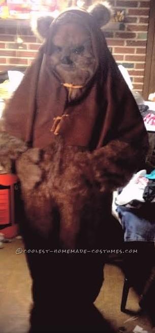 Coolest Homemade Adult Ewok Costume - 2