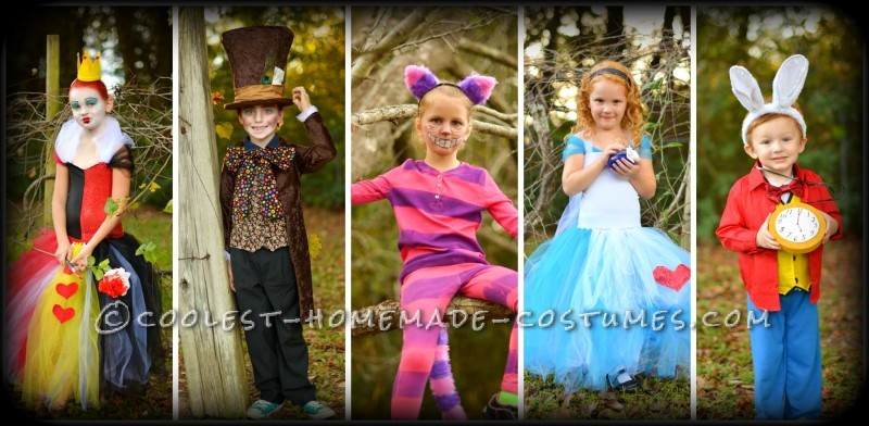 Cool Family Alice in Wonderland Costumes