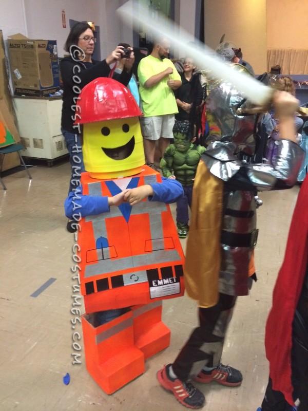 Finished Emmet costume