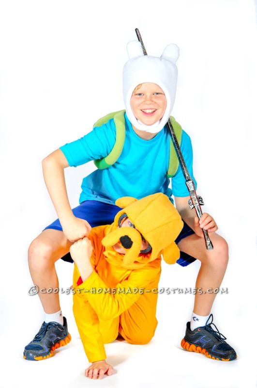 Finn and Jake's Amazing Halloween Adventure Costumes
