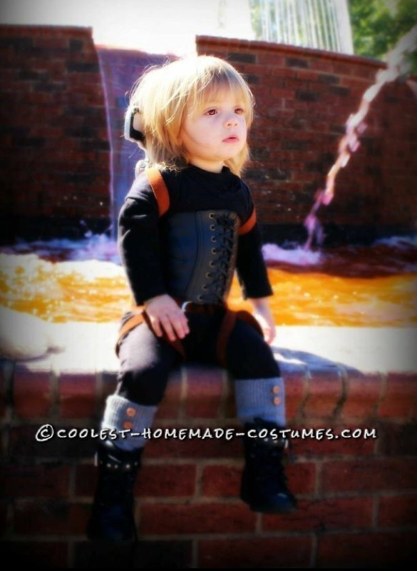 Toddler Alice Costume from Resident Evil: Afterlife!