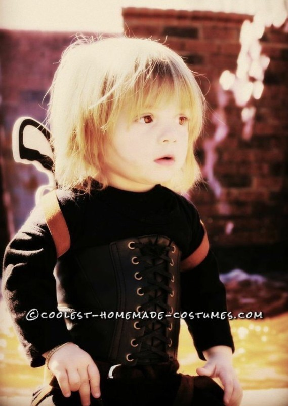 Toddler Alice Costume from Resident Evil: Afterlife! - 1