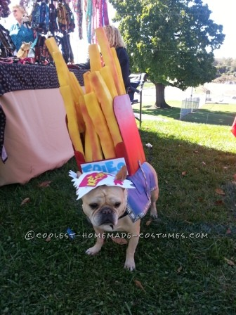 Cool Dog Costume: Frenchie Fry Fashion by Yogi