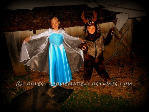 Frozen Sven and Elsa Child Costumes