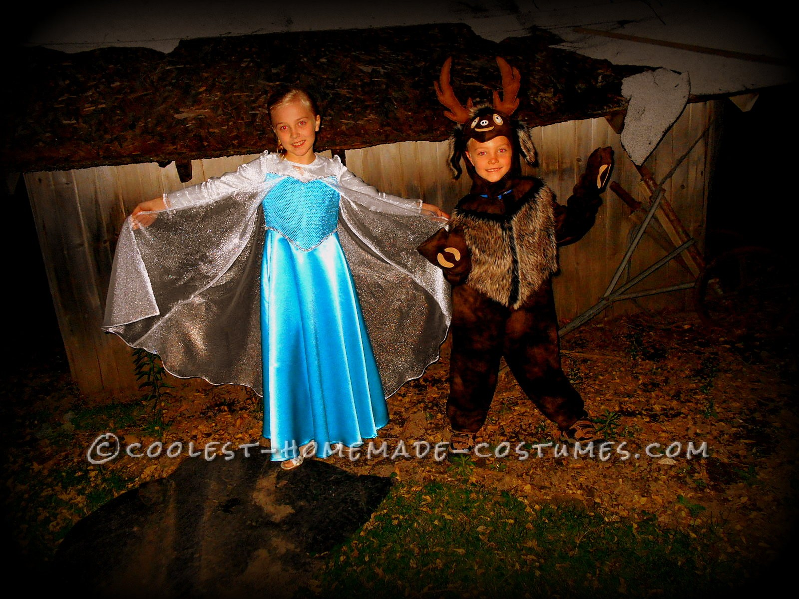 Frozen Sven and Elsa Child Costumes