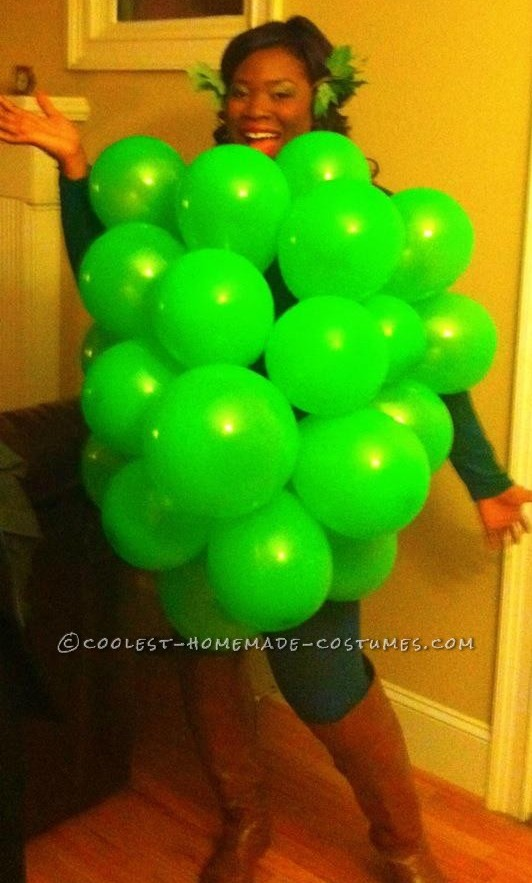 Easy Fruit of the Loom Grapes Costume