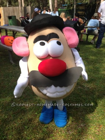 Fully Functional Mr. Potato Head Costume
