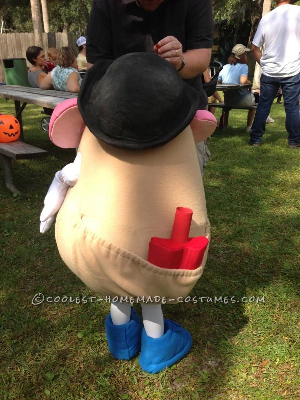 Fully Functional Mr. Potato Head Costume - 1