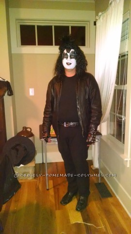 Gene Simmons KISS Biker Costume