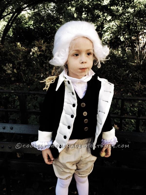 Cute George Washington Costume for a Boy