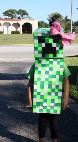 Cool Minecraft Girl Creeper Costume