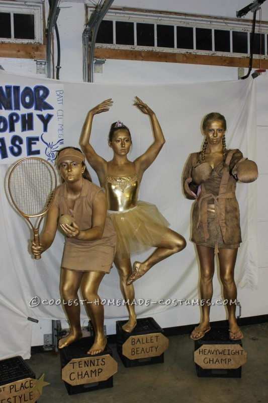 Golden Trophy Case Group Costume - 5