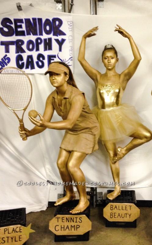 Golden Trophy Case Group Costume