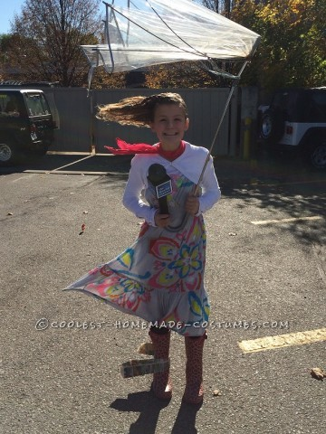 Gone With the Wind Reporter Halloween Costume