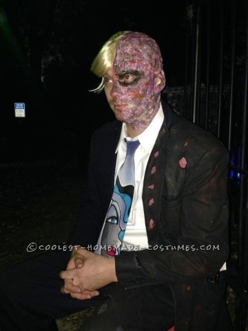 DIY Two-Face Costume Sensation