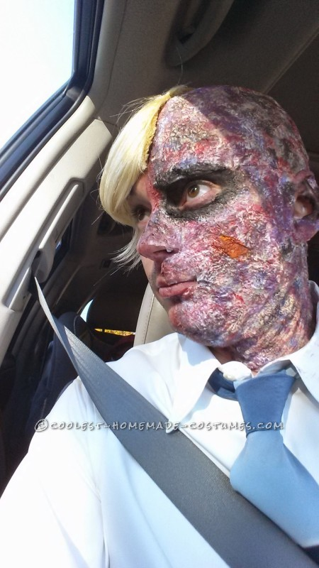 DIY Two-Face Costume Sensation - 3