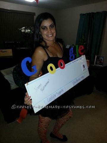 Cute Google Girl Costume