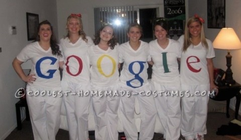 Google Girls Group Costume