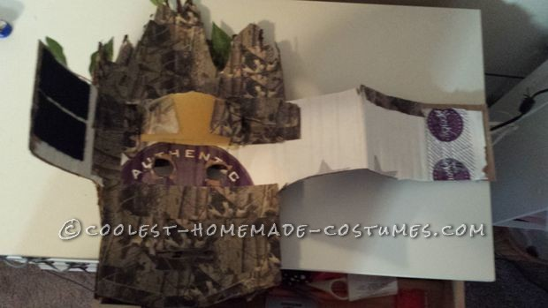 How to Make a Groot Mask for Under $10 - 4
